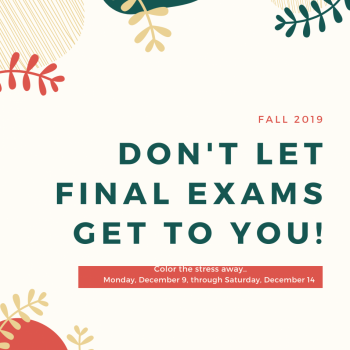 Final Exam Coloring Fall 2019