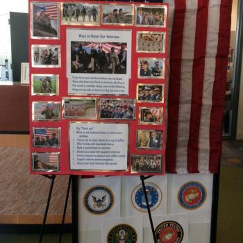 Honoring Veterans @ NERC Library