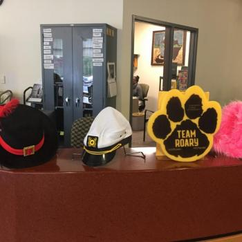 Crazy Hats Day @ NERC Library 2019