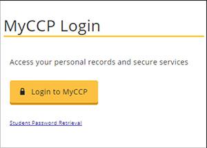 MyCCP Login