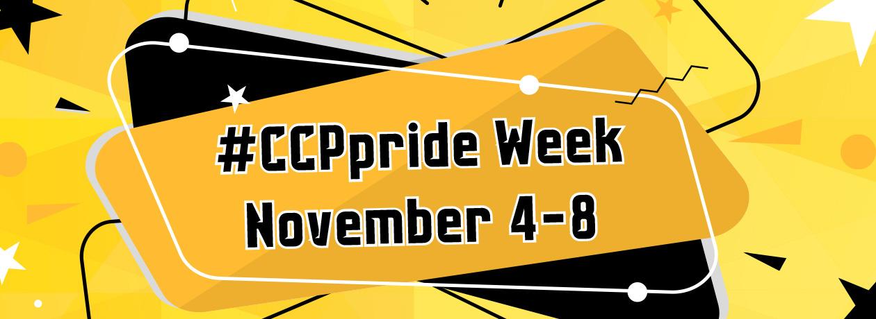 #CCPpride Week