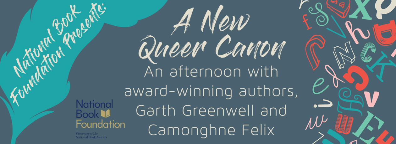 The National Book Foundation Presents: A New Queer Canon