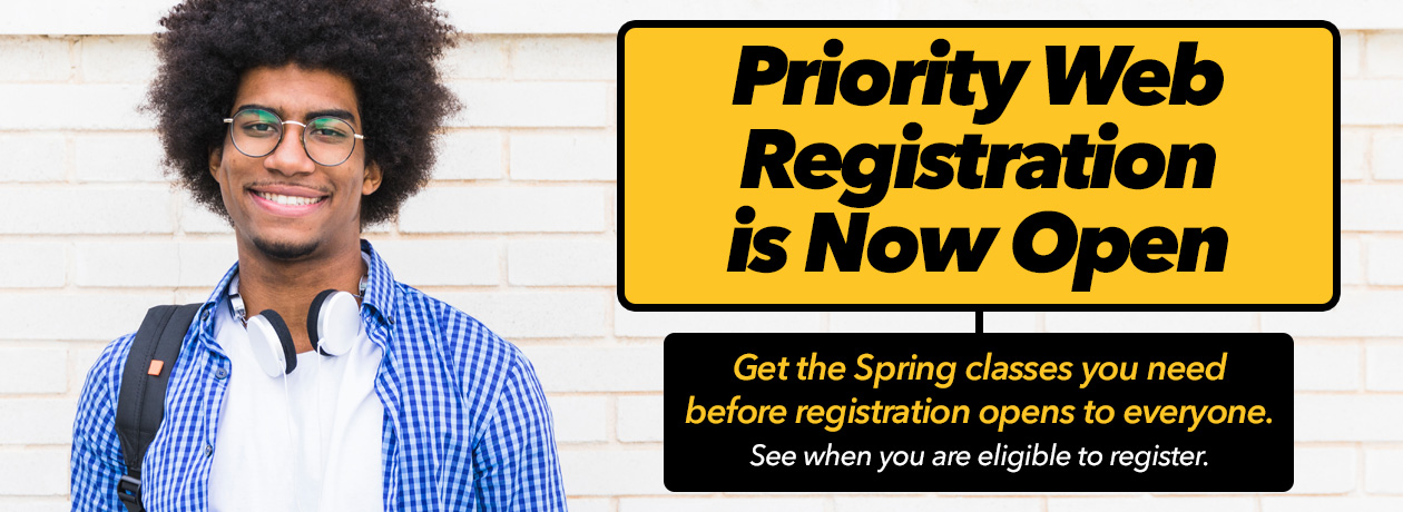 Priority Web Registration