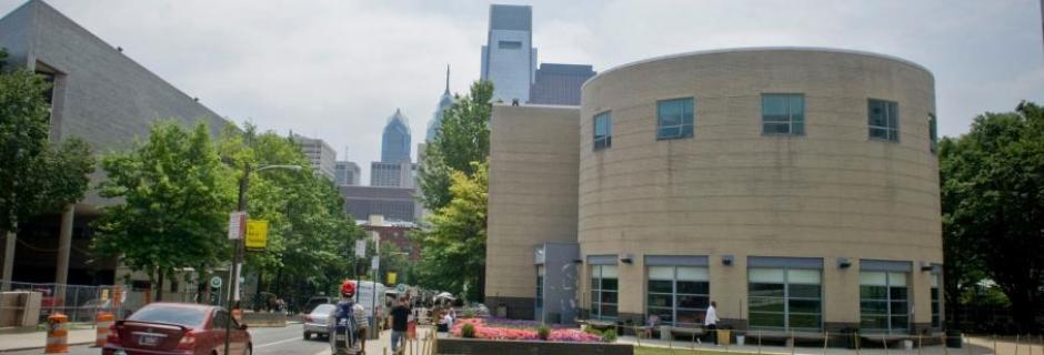 Winner Student Life Building at Community College of Philadelphia.