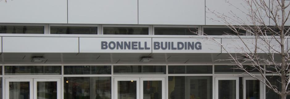 Bonnell West Entrance at CCP.