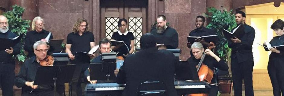 CCP Music Dept Performance of Choir and musicians