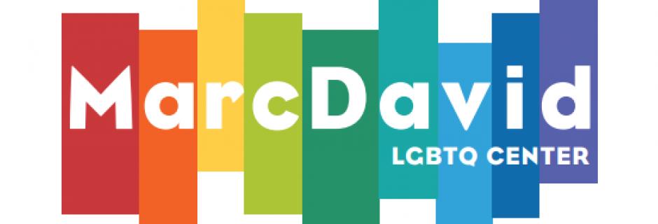 MarcDavid LGBTQ Center Logo