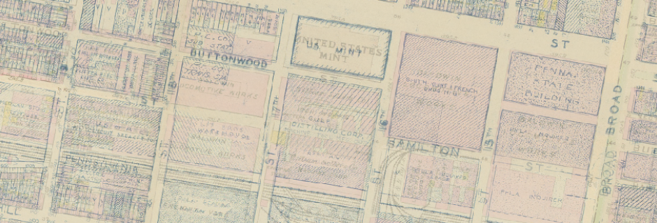 A palimpsest featuring development on and near what is currently CCP for the past 200 years.