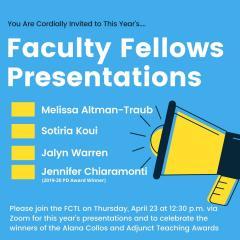 Fellows Presentations